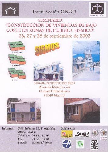 Seminario construcci n de viviendas de bajo coste en for Coste construccion vivienda unifamiliar